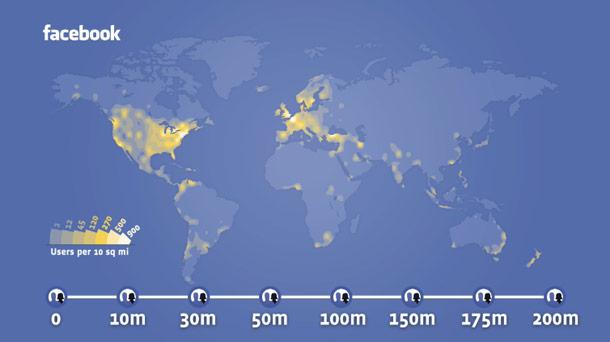 Facebook-heat-map