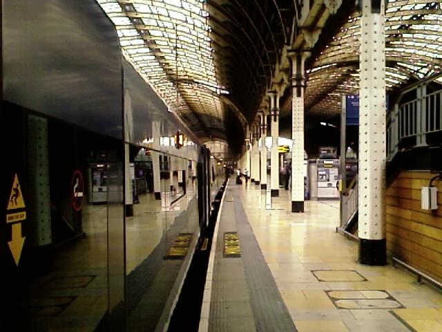 Paddington Station, London, 2:02PM