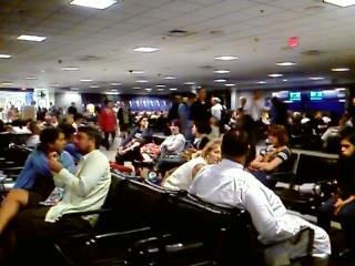 Dulles, 9:09PM