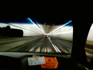 Holland Tunnel, 2:04AM, NYC