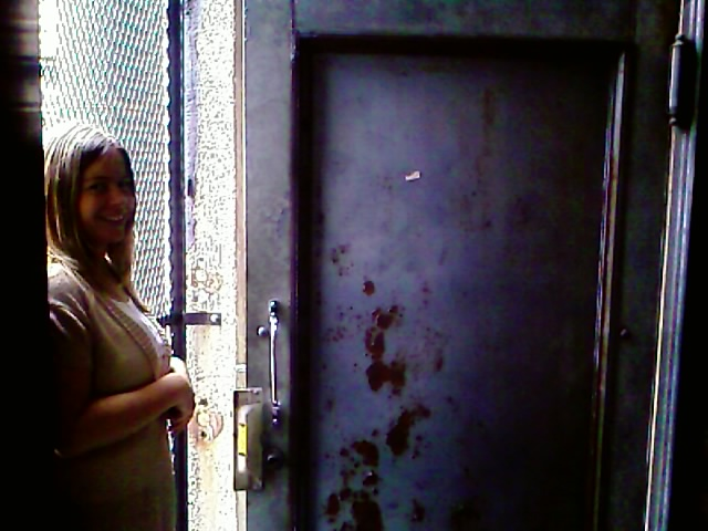 Door to the second floor, W+K NYC