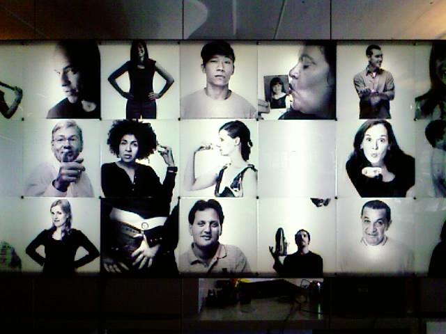 Portrait wall, W+K NY