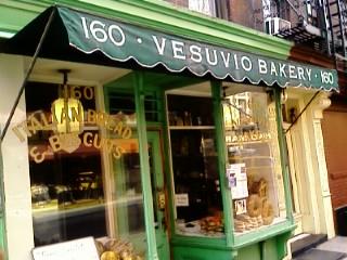 Vesuvio's Bakery, Soho, NYC