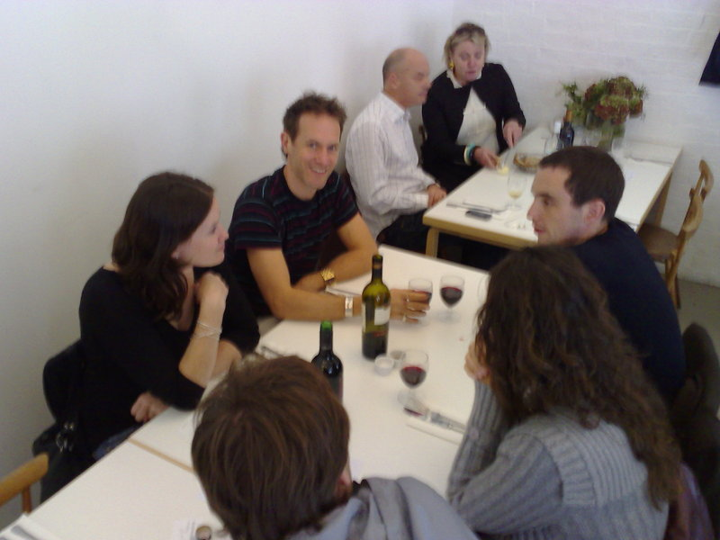 team nokia lunch