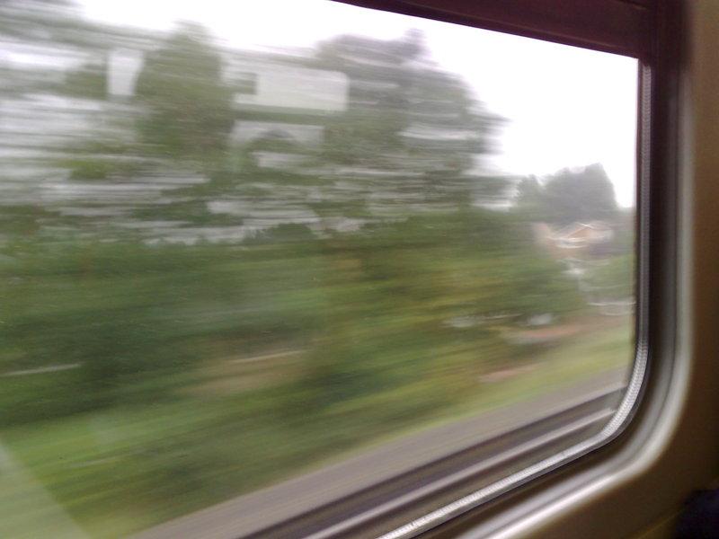 train ride to nokia, 12:08pm local