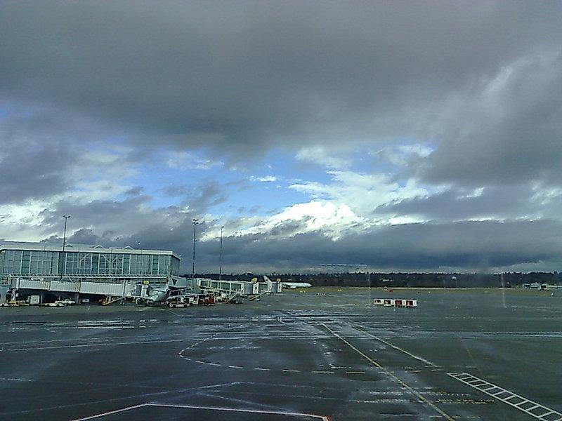 YVR, awaiting boarding
