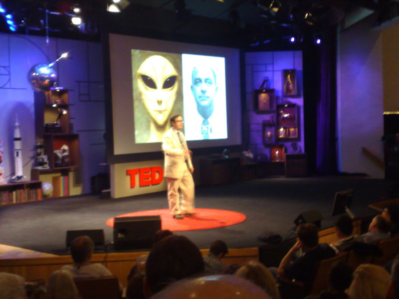 john hodgman @ TED