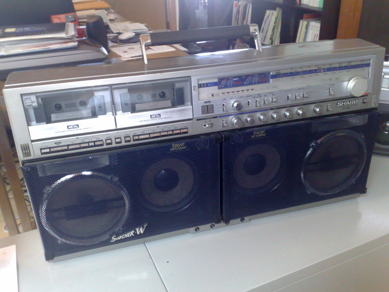 John Jay's Boom Box is Bigger Than Yours
