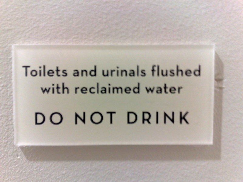 There I was, parched,